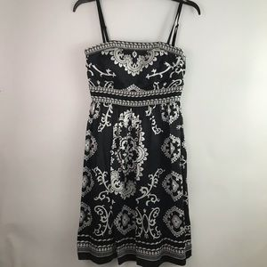 White House Black Market Womens Silk Dress Size 0